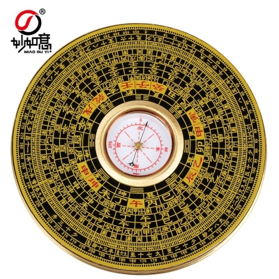 香港罗经盘风水罗盘有盖罗经仪罗盘仪综合盘指南针测风水方位